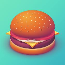 Burger Isometric - - Fine Art